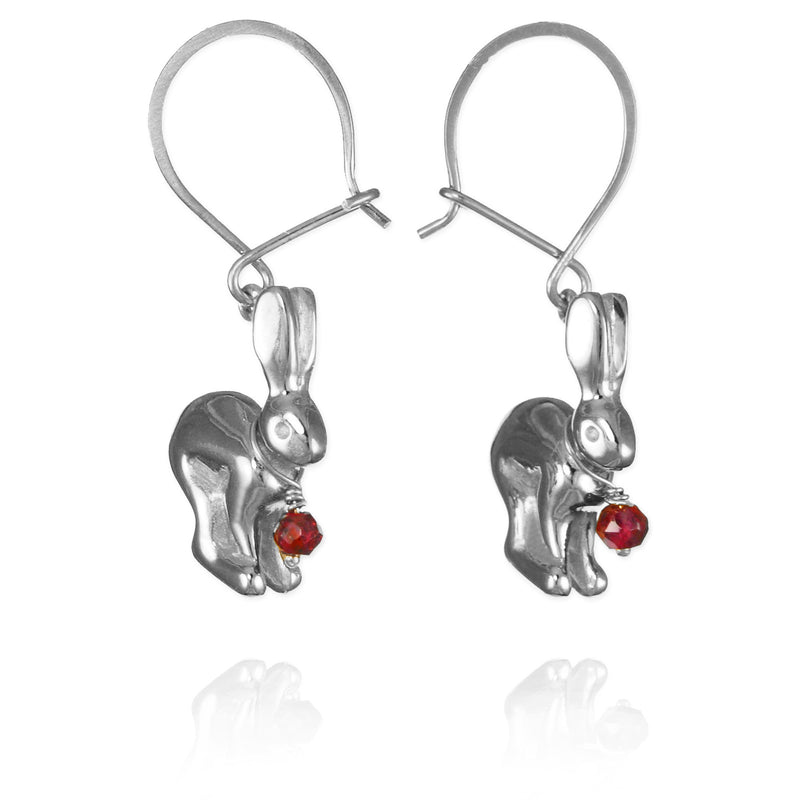 Hare Hook Earrings - Jana Reinhardt Ltd - 3