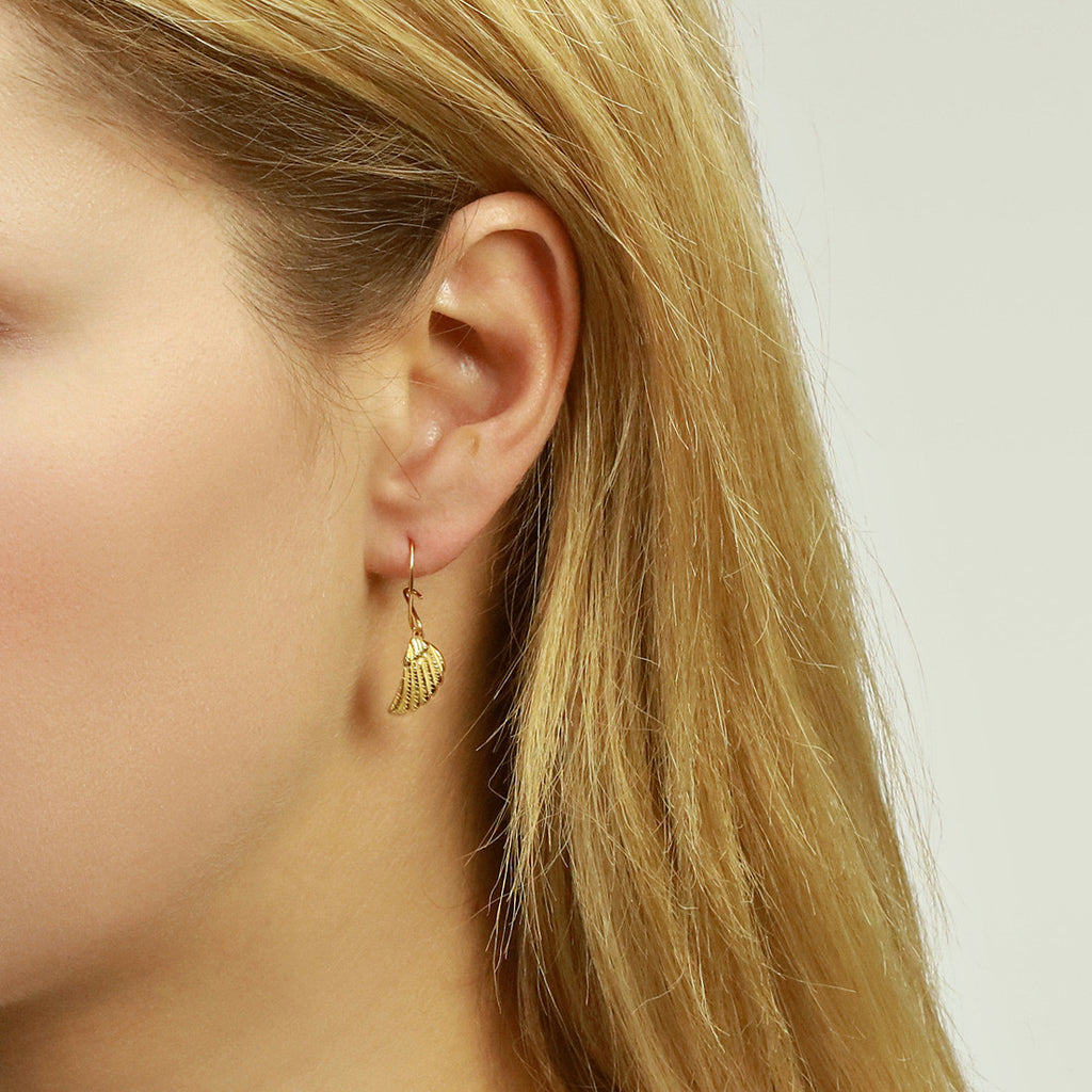 Wing Hook Earrings