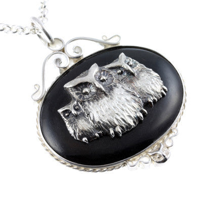 Owl Pendant Necklace - Jana Reinhardt Ltd - 1