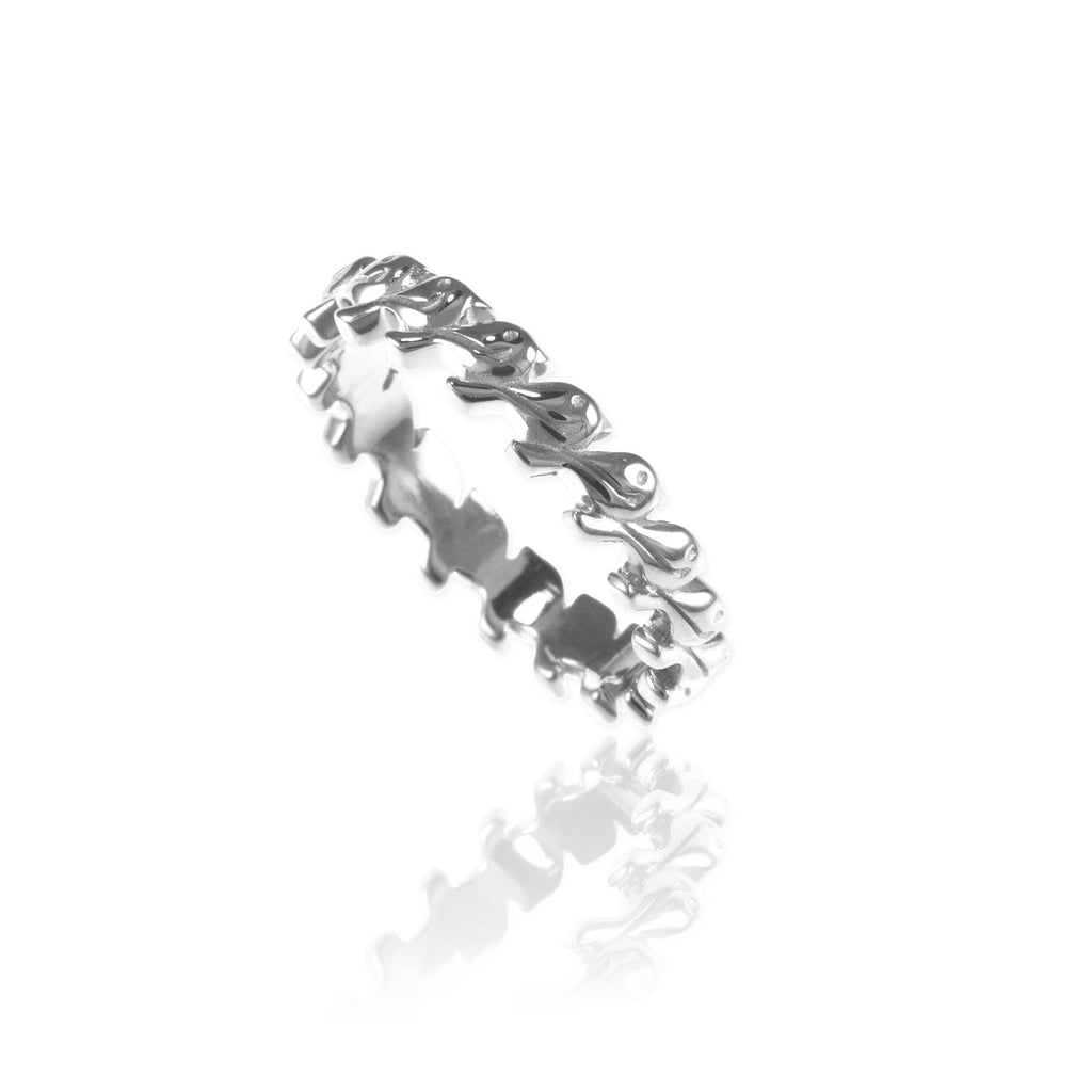 Tiny Birds Eternity Ring - Jana Reinhardt Ltd - 3