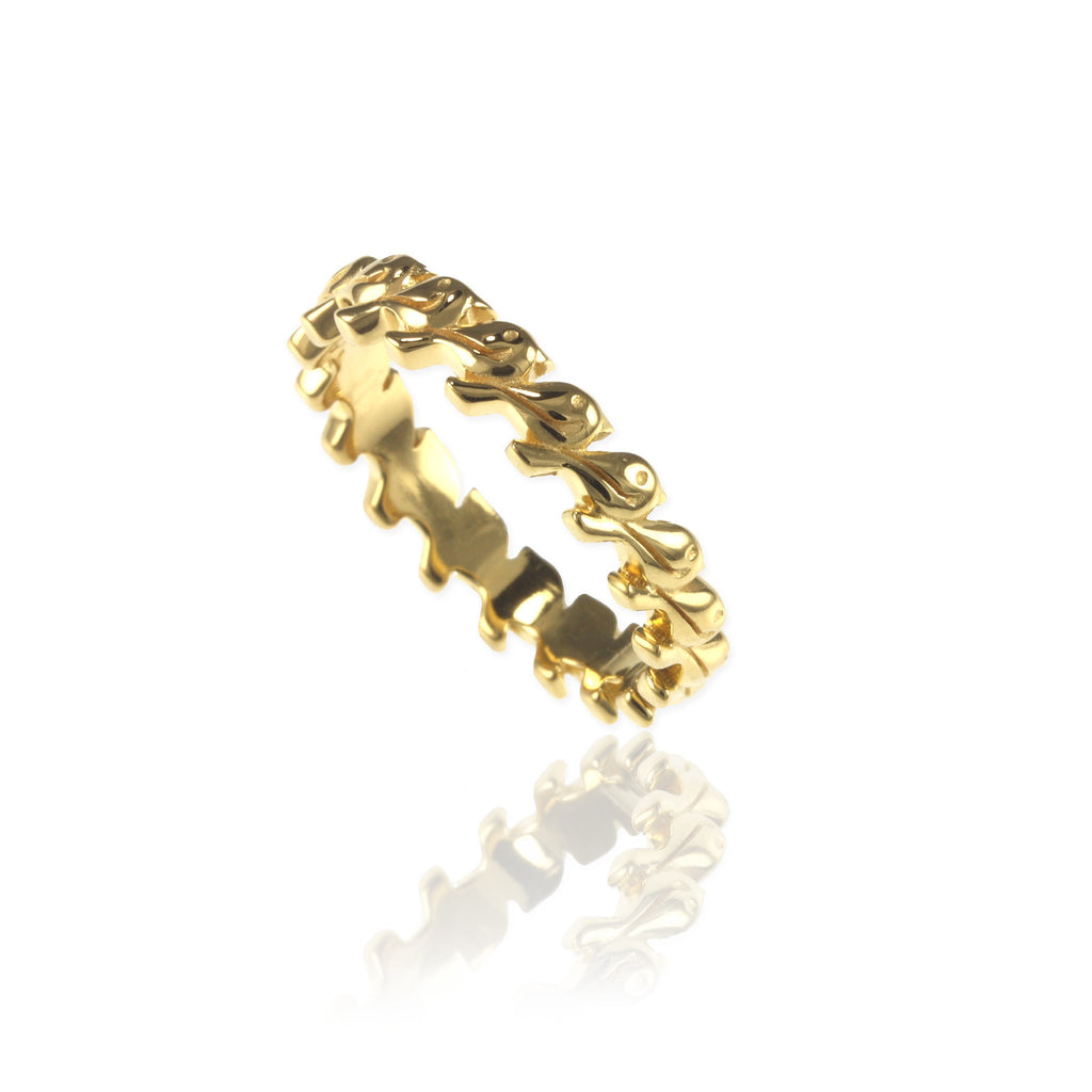 Tiny Birds Eternity Ring - Jana Reinhardt Ltd - 1