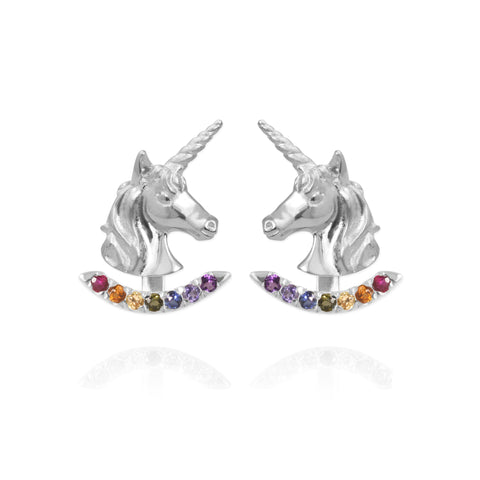 Hummingbird Ear Studs