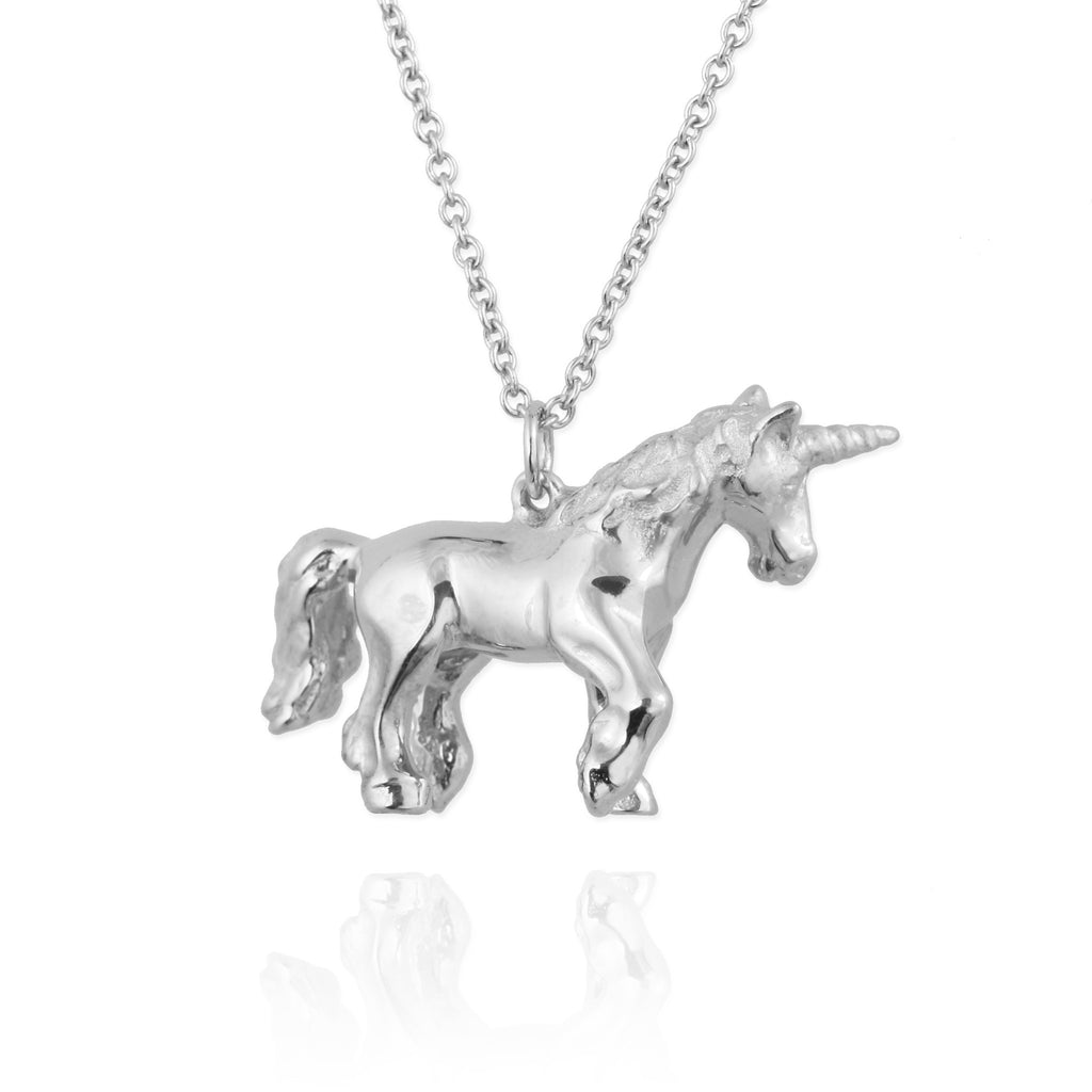 gold lyst dogeared product magical pendant normal jewelry unicorn are gallery you necklace in