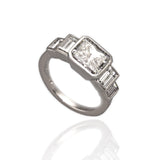 Art Deco Five Stone Diamond Ring