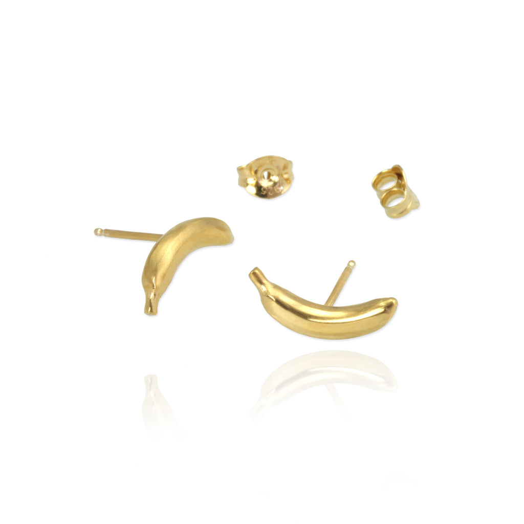 Banana Stud Earrings