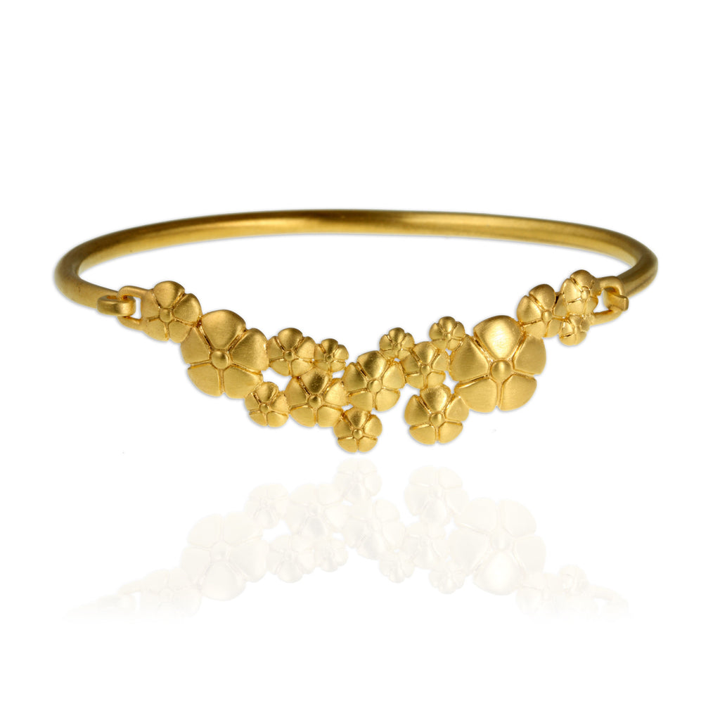 Flower Bangle - Jana Reinhardt Ltd - 1