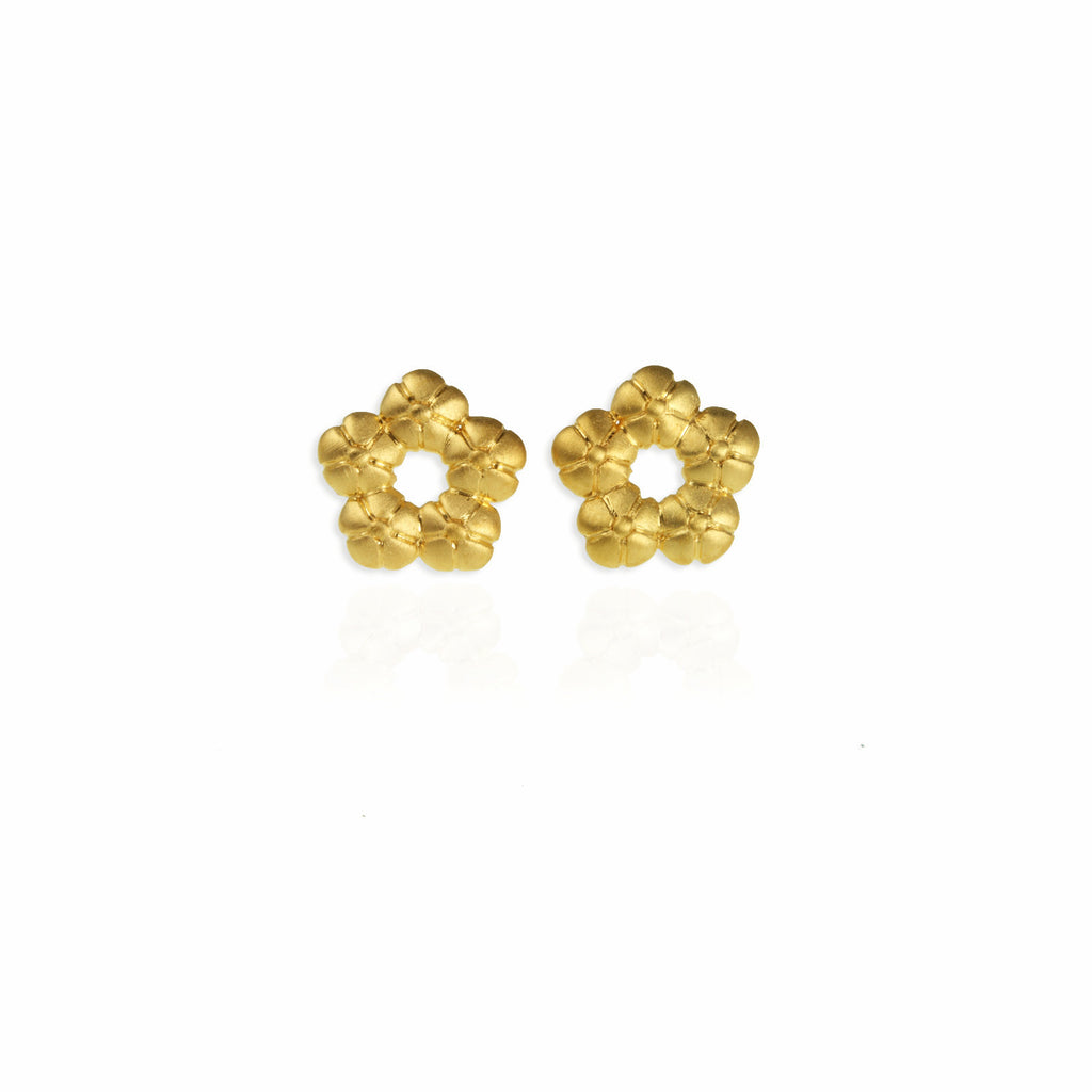 20c0d9ad5a889 Halo Flower Ear Studs