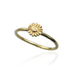Daisy Ring - April Birth Flower Ring