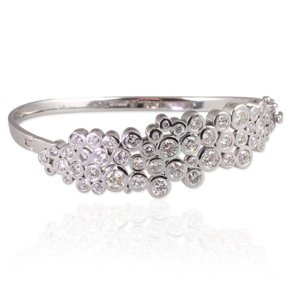 Diamond Bubble Bangle