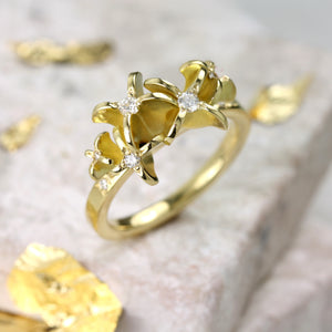 Flower Engagement Ring - Jana Reinhardt Ltd - 2