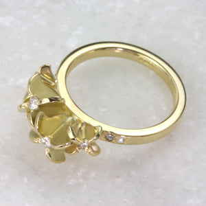 Flower Engagement Ring - Jana Reinhardt Ltd - 4