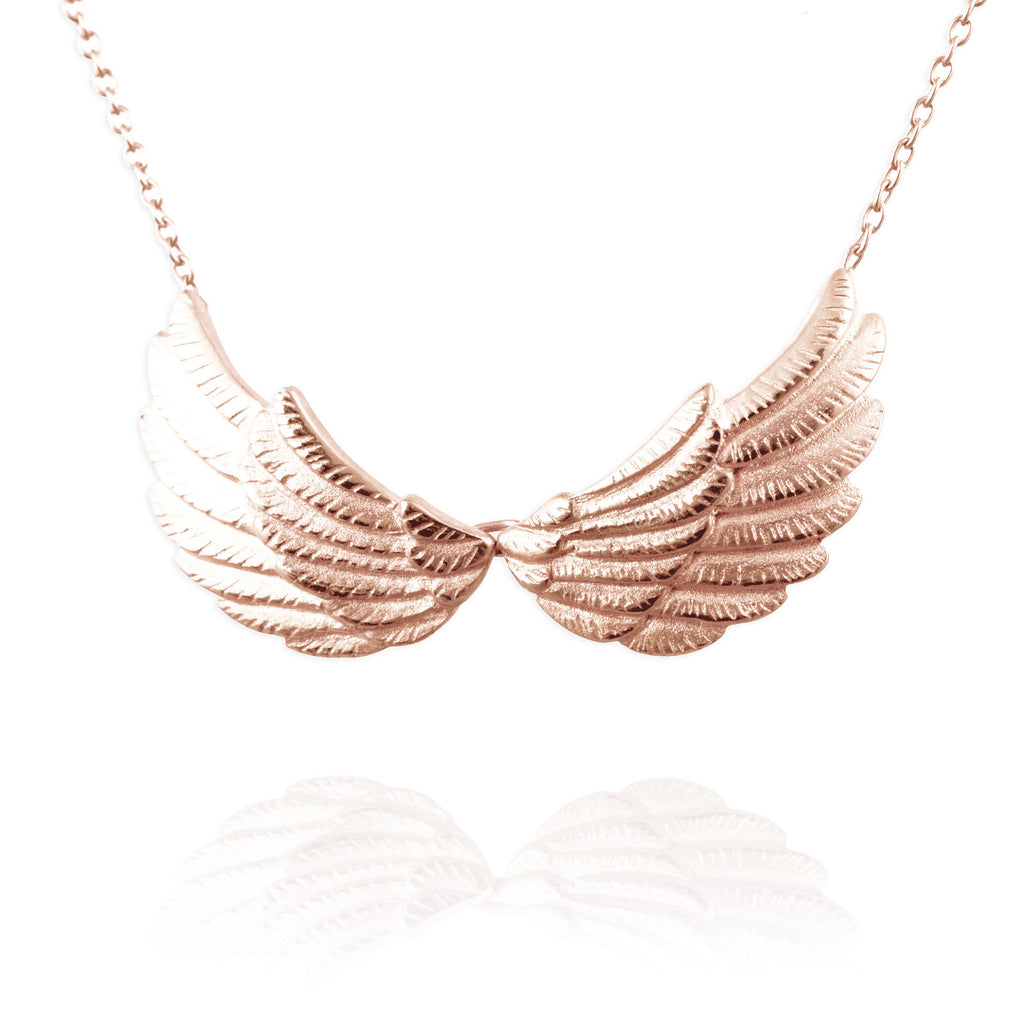 Double Wing Necklace - Jana Reinhardt Ltd - 4