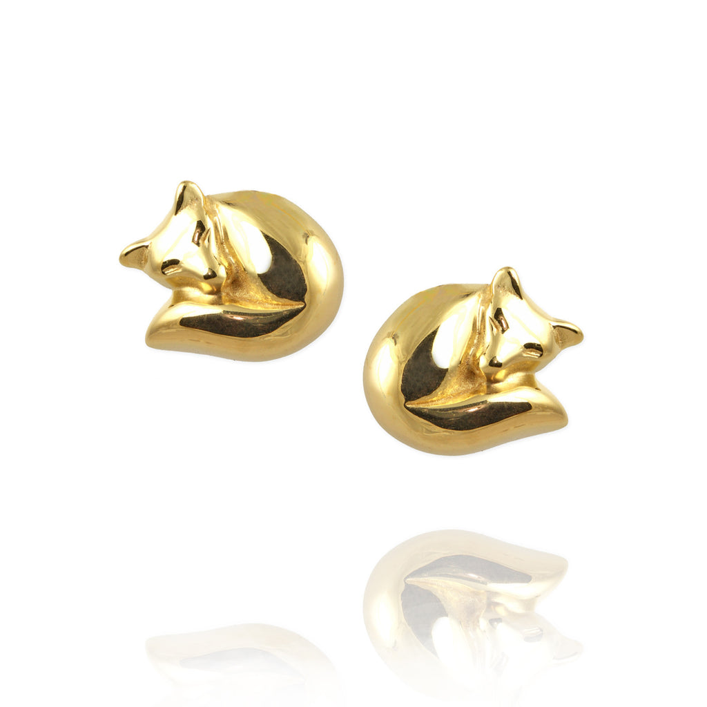 Fox Ear Studs - Jana Reinhardt Ltd - 1
