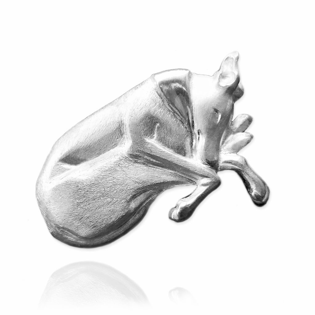 Greyhound / Whippet Pin - Jana Reinhardt Ltd - 1