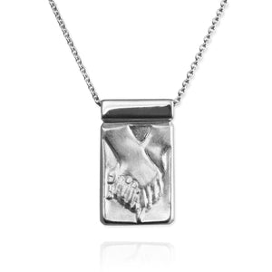 Holding Hands Pendant