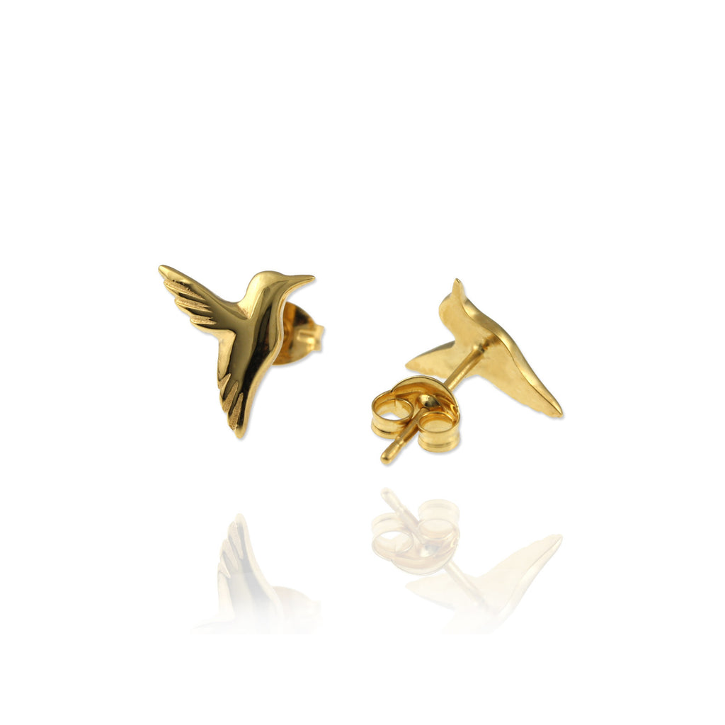 Hummingbird Ear Studs - Jana Reinhardt Ltd - 5