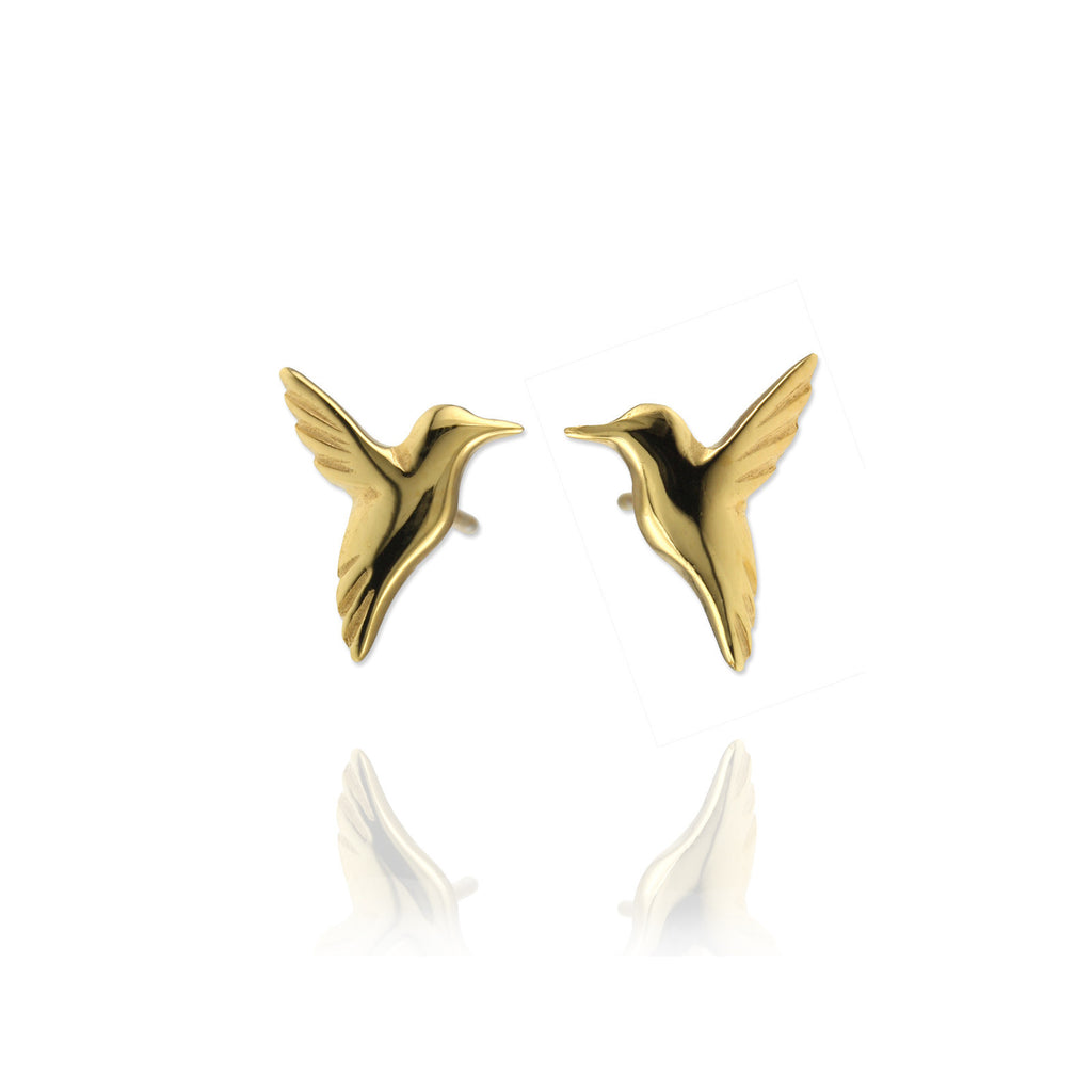 Hummingbird Ear Studs - Jana Reinhardt Ltd - 3