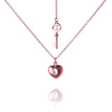 Heart and Key Necklace - Jana Reinhardt Ltd - 2