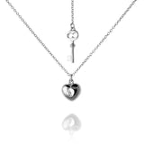 Heart and Key Necklace - Jana Reinhardt Ltd - 1