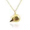 Hedgehog Pendant Necklace - Jana Reinhardt Ltd - 1