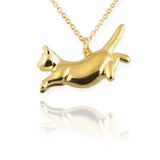 Cat Necklace (leaping) - Jana Reinhardt Ltd - 3