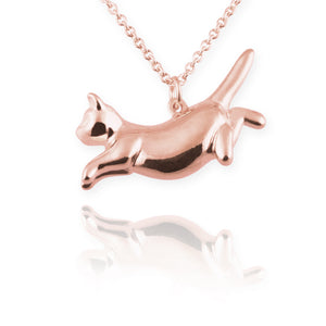 Cat Necklace (leaping) - Jana Reinhardt Ltd - 4
