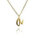 Letters Necklace - Jana Reinhardt Ltd - 1
