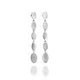 Long Ellipse Ear Studs - Jana Reinhardt Ltd - 1