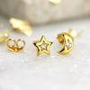 Moon and Star Earrings - Jana Reinhardt Ltd - 6