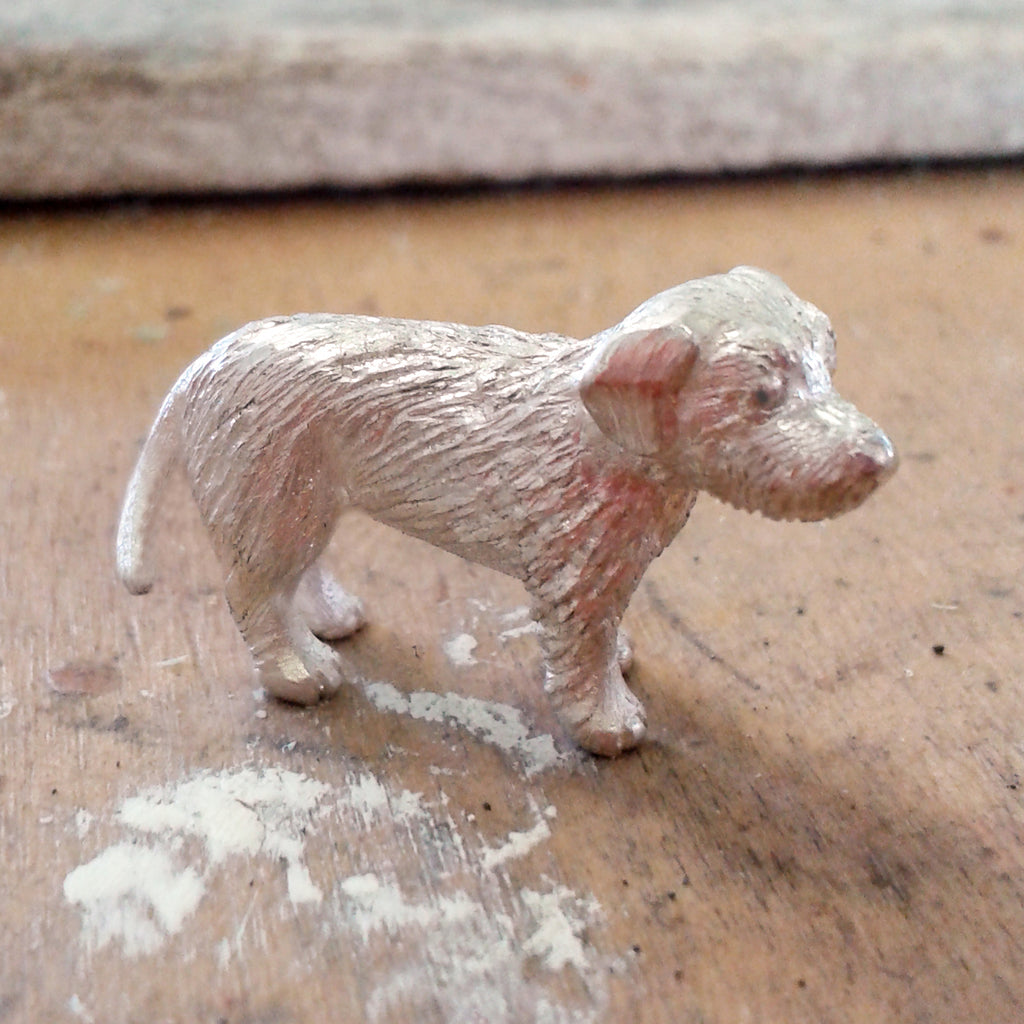Sterling Silver Terrier Pendant