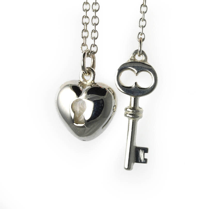 Heart and Key Necklace - Jana Reinhardt Ltd - 4