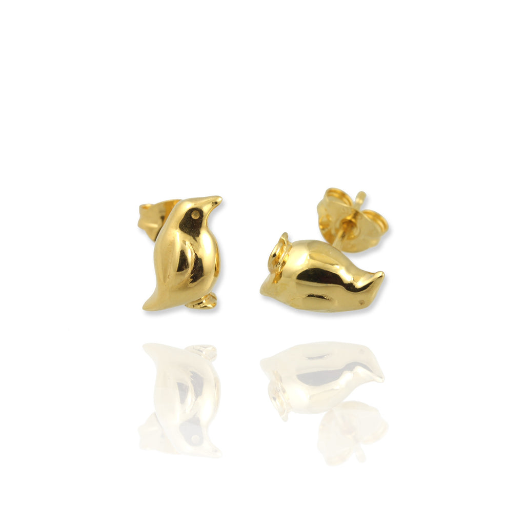 Penguin Stud Earrings - Jana Reinhardt Ltd - 4