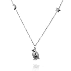 Penguin Pendant Necklace - Jana Reinhardt Ltd - 7