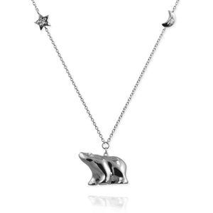 Polar Bear Pendant Necklace - Jana Reinhardt Ltd - 4