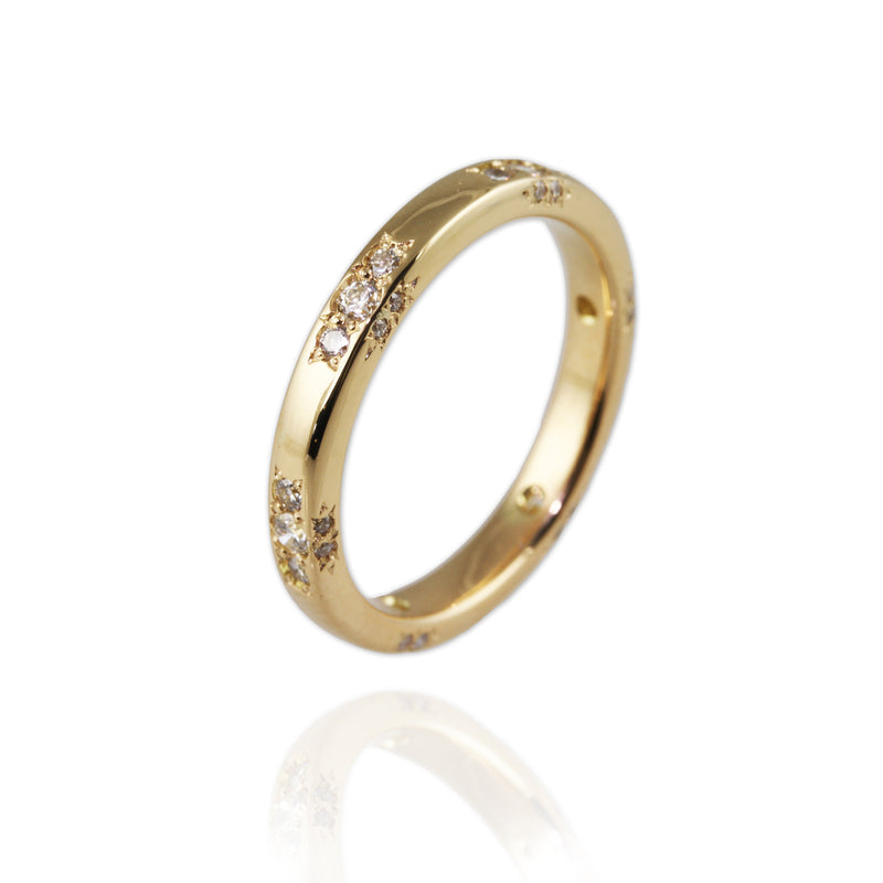Restyled Antique Gold & Diamonds