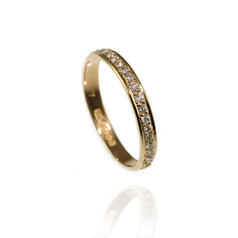 Platinum Diamond Eternity Ring