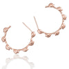 Bird Creole Hoop Earrings - Jana Reinhardt Ltd - 1