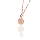 Single Ellipse Necklace - Jana Reinhardt Ltd - 1