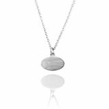 Single Ellipse Necklace - Jana Reinhardt Ltd - 8