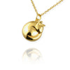 Cat Necklace (Curled up) - Jana Reinhardt Ltd - 3