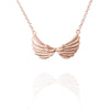 Tiny Double Wing Necklace - Jana Reinhardt Ltd - 1