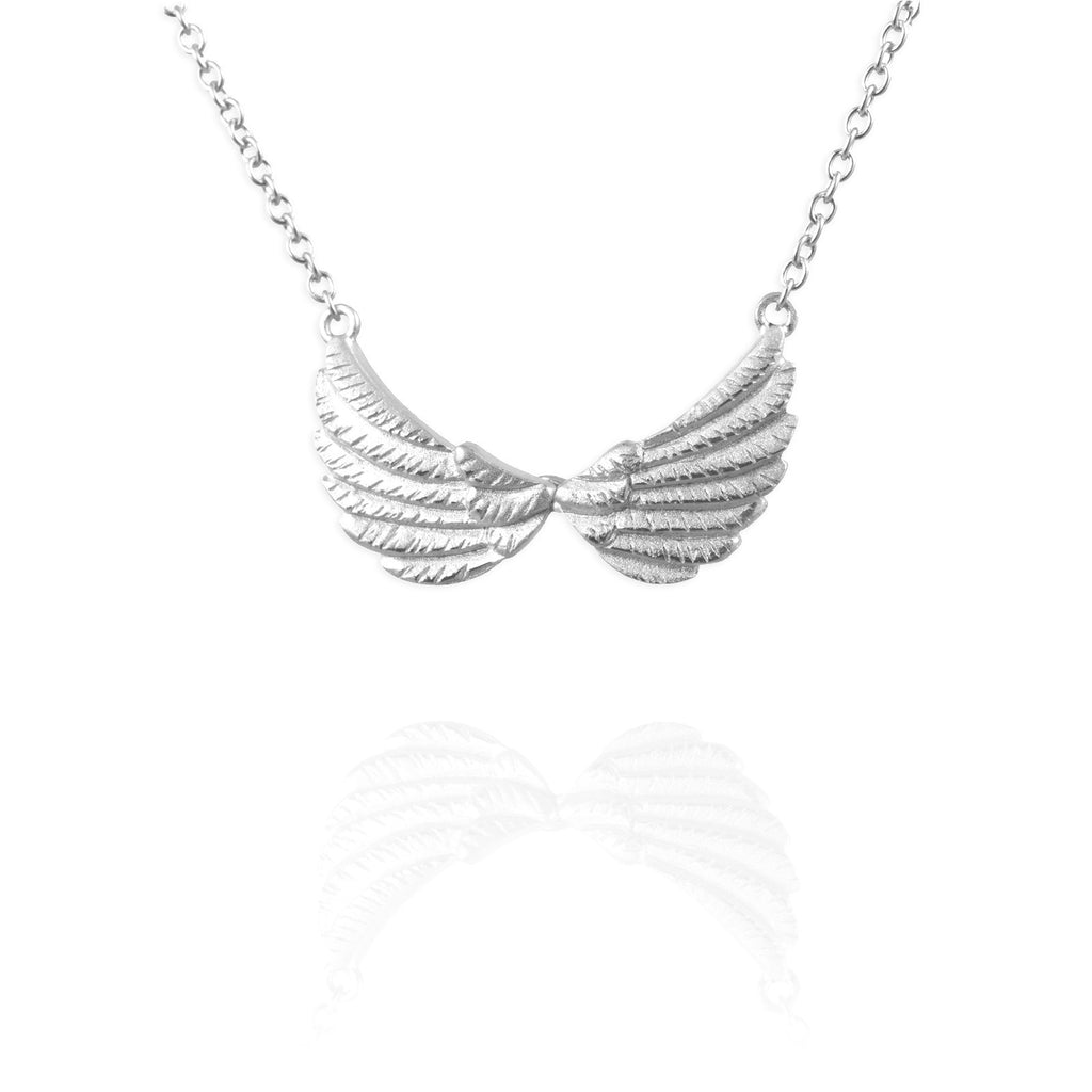 Tiny Double Wing Necklace - Jana Reinhardt Ltd - 4