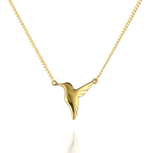 Tiny Hummingbird Necklace - Jana Reinhardt Ltd - 3
