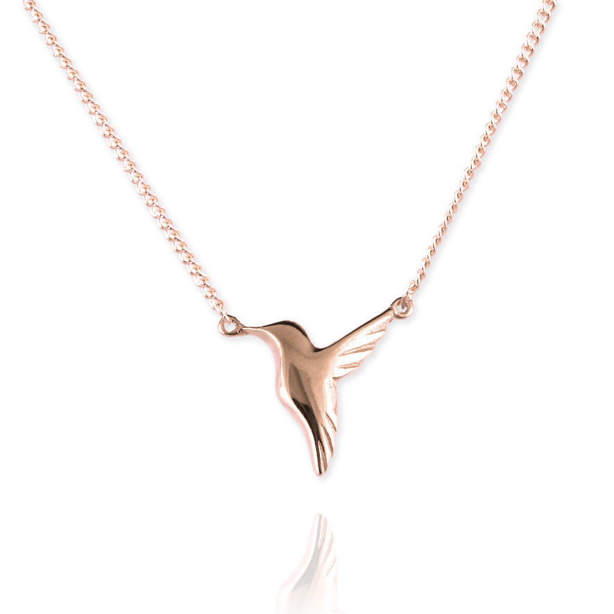 Tiny Hummingbird Necklace - Jana Reinhardt Ltd - 4