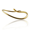 Snake Bangle with black diamonds - Jana Reinhardt Ltd - 3