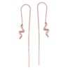 Snake Chain Earrings - Jana Reinhardt Ltd - 3