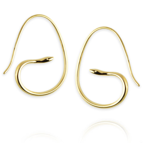 Sparrow Hoop Earrings