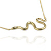 Snake Necklace with black diamonds - Jana Reinhardt Ltd - 4
