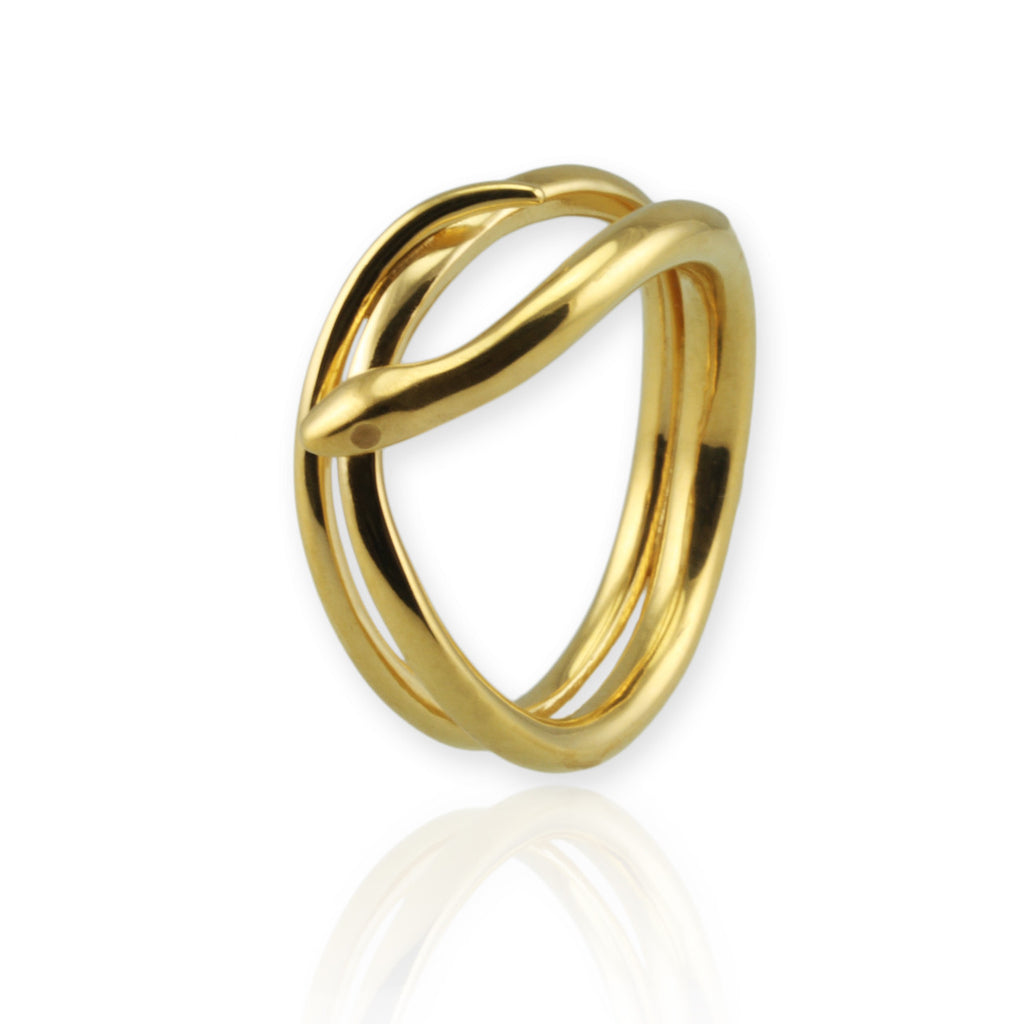 Coiled Snake Ring - Jana Reinhardt Ltd - 2