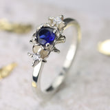 Trilogy Flower Engagement Ring - Jana Reinhardt Ltd - 3